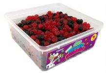 Candy Factory Mini Mixed Berries Tub Of 800 (HALAL)